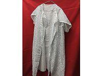 Unisex patient hospital gown