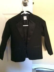 boys suit black with white shirt and black shoes