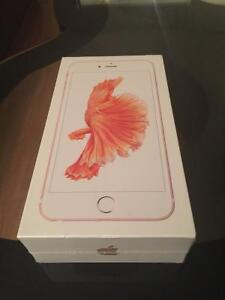 iPhone 6S plus 64GB Gold fido rogers never opened jamais o