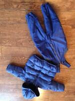 GAP Down jacket & snowpants