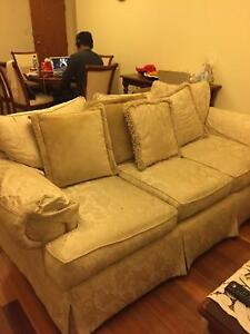 3 seaters and 2 seaters couch, wardrobe, 4 seaters dining table Hurstville Hurstville Area Preview
