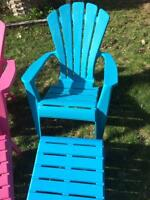 Plastic Chairs and Stools
