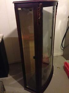 Wooden Glass Display Case- $80 obo Oakville / Halton Region Toronto (GTA) image 2