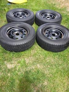 Like New Winter Tires and Rims for Dodge Ram 1500