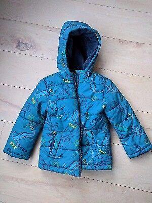 Boys Dinosaur Winter Coat | Age 3-4 | £3