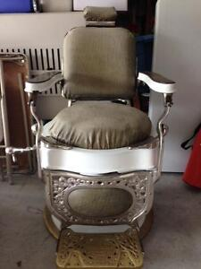 Barber chair for sale - Theo A Kochs