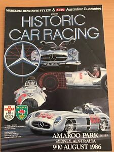 Historic Car Racing August 1986 issue Isaacs Woden Valley Preview