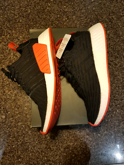 Adidas nmd r2 pk red/black size 7.5