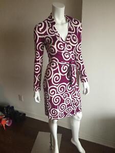 Brand new Diane von Furstenberg Jeanne Two Vintage Wrap Dress.