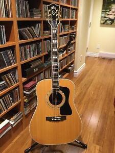 Guitare guild USA D55