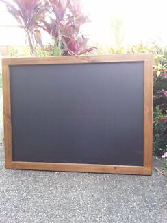 Curved Top Timber Frame Chalkboard Menu Board Messages Recipes