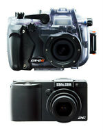 Sea & Sea Underwater DX-2G 12MP CAMERA, Housing & W/A Lens