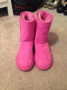 UGG boots pink women's size 5