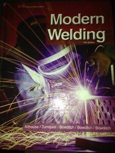 Selling my modern welding 11th edition text book