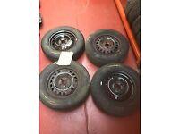 14 Inch Vauxhall Steel Wheels