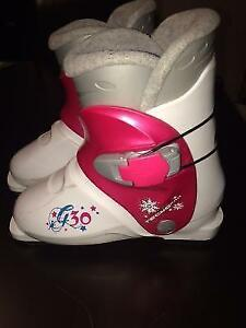 Downhill Ski Boot Fo Girls