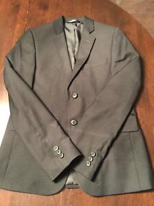 Boys size 12 Black suit