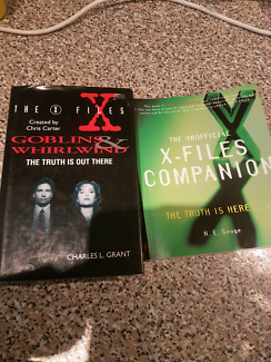 The X Files Goblins & Whirlind  and The Unofficial X-Files Compan