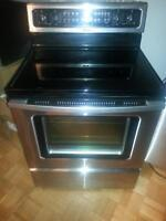 stainless convection self cleaning 450$