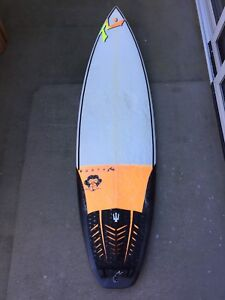 """Rusty """"enough said"""" surfboard 5'10 Varsity Lakes Gold Coast South Preview"""