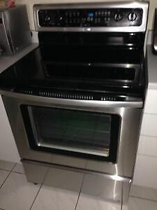 WHIRLPOOL Cuisiniere Four Stainless Auto Nettoyant 5 bruleurs