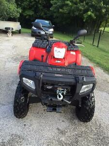 ATV 2010 Polaris low miles