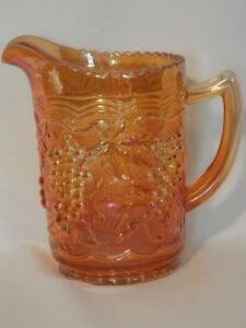 Carnival Glass Pitcher Ebay