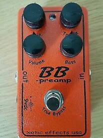 Xotic BB preamp guitar pedal