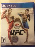Ufc ps4 25$ & uncharted the Nathan
