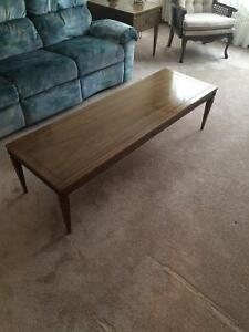 Coffre table & End table
