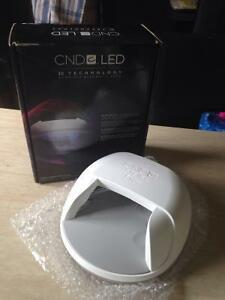 CND gel and Shellac nails products and Brisa Lamp NEW