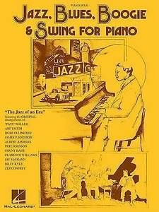 JAZZ BLUES BOOGIE & SWING FOR PIANO
