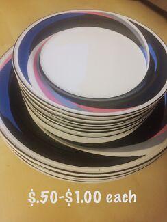 Plates sale