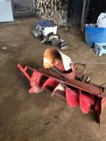 Snow blower for lawn tractor