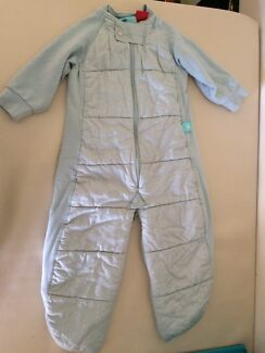Ergo pouch sleep suit