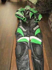 Rhyno leather suit.