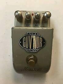 Marshall guv'nor guitar pedal