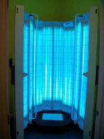 Sunvision V6000 Stand Up Tanning Bed