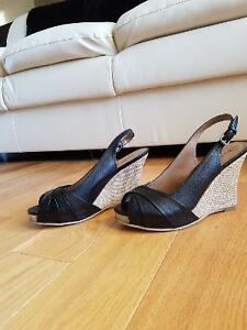 Wedge sandals size 8.5 / 9