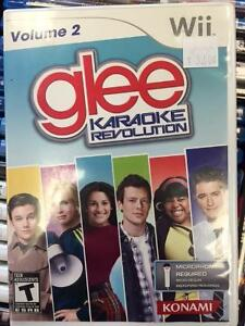 Wii Glee Karaoke Revolution Volume 2