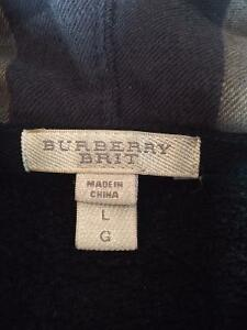 Burberry Hooded Cotton Jersey Top - Black West Island Greater Montréal image 2