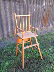 Wooden Dolls Highchair Burleigh Waters Gold Coast South Preview