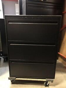 """Haworth 3 Drawer Lateral Filing Cabinet - 30""""W - $250"""