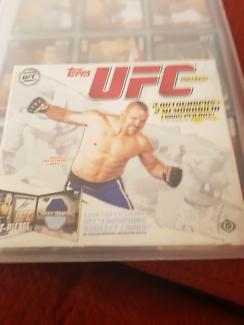 UFC COLLECTORS CARDS