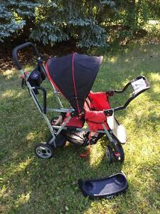 Joovy Sit and Stand Double Stroller - EUC