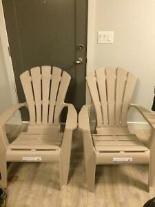 Deck chairs $20 each Brand New!
