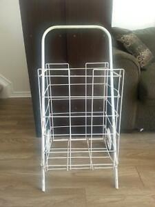 Paper/laundry cart