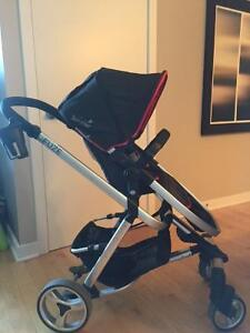 **HARDLY USED **SUMMER INFANT FUZE STROLLER AND ACCESSORIES*