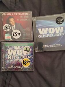 ALL SEALED CDS ALL 3 for 20.00!!!