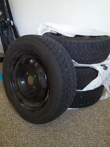 winter tires with rims for sale - 195 65 R 15